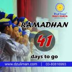 Rejab is here, Ramadhan is near!