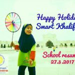 Happy Holidays, Smart Khalifah!