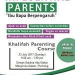 Kursus Ibubapa Berpengaruh 23/7/2017