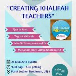 Seminar : Creating Khalifah Teachers